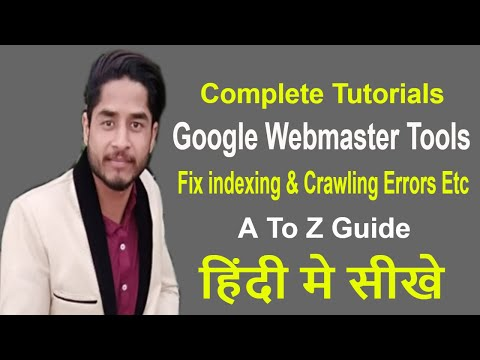 SEO - Part 27 | what is google webmaster tools in hindi 2018 | submit xml sitemap, verify website