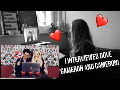 INTERVIEW WITH DOVE CAMERON AND CAMERON BOYCE!!!