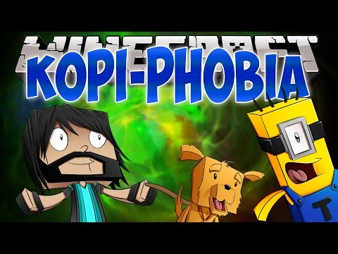 KEVIN'S AFRAID OF KOPI!! | Think's Lab Minecraft Mods [Minecraft Roleplay]