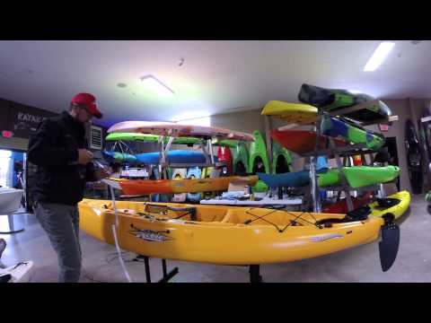 2015 Hobie Outback Anchor Trolley Install