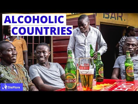 Top 10 Alcohol Consuming Countries in Africa 2020