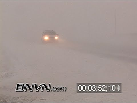 11/28/2005 Blizzard video - winter weather video