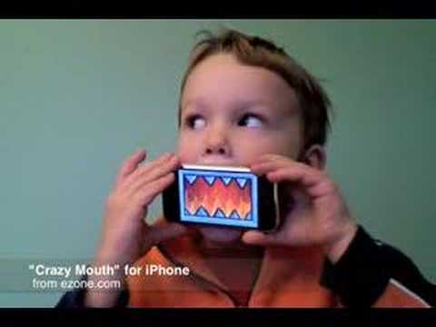 Crazy Mouth: iPhone Toy by Ezone.com