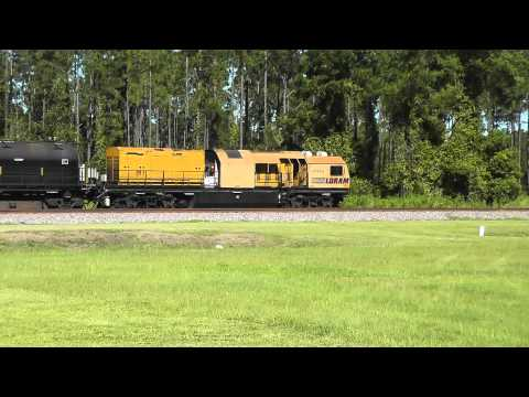 [HD] Railfanning Folkston, GA 8-10-13 Part 1.