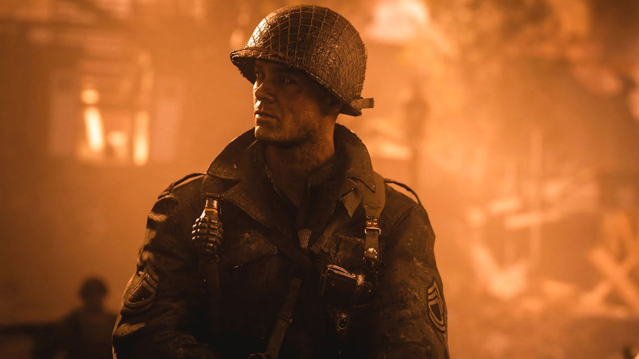 Wallpaper Call of Duty World at War shooter CoD