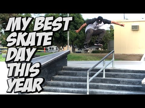 MY BEST SKATE DAY THIS YEAR !!! - NKA VIDS -