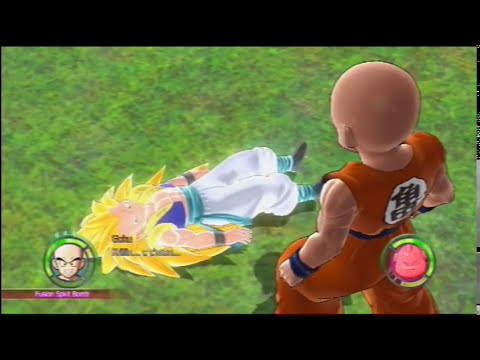 dragonball raging blast 2 transformation glitch 2