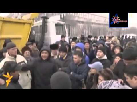 Protesters arrested in Kazakhstan after demonstration against currency devaluation   YouTube 2
