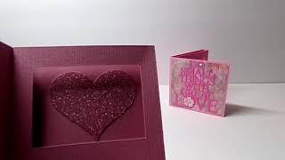3D Shadow Box Mini Card