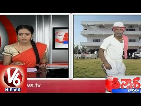 Mallanna Ramulamma Comedy Conversation On KCR Farm House - Teenmaar...