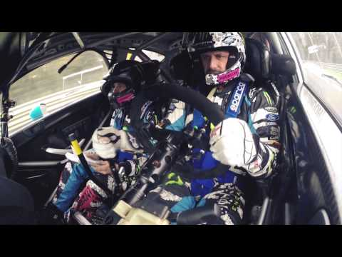 Valentino Rossi & Ken Block take on the world famous Monza Rally