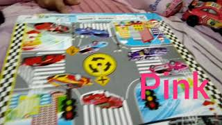 LEARN COLOURS WITH CARS FOR TODDLERS KIDS CHILDREN | Videos for Children | Fanesa Amira👧