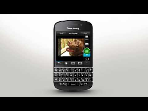 Picture Editor: BlackBerry Q10 - Official How To Demo