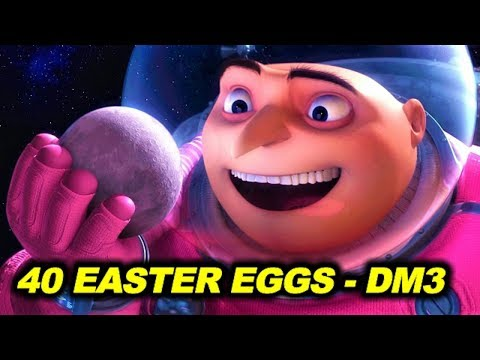 40 EASTER EGGS In DESPICABLE ME 3 (2017) 😍