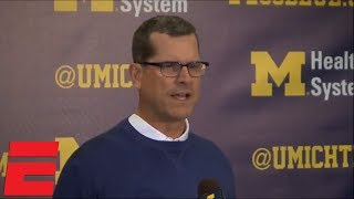 Jim Harbaugh: Calling Michigan State march 'bush league' is 'putting it mildly'   College Football
