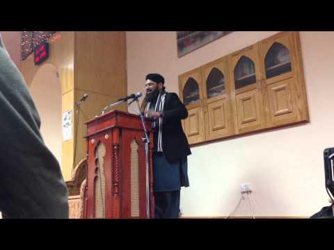 Dare Nabi Par-syed Furqan Qadri-usmani Mosque Leicester 2014 video