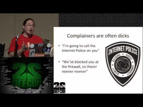 Massscanning the Internet - Defcon 22 (2014)