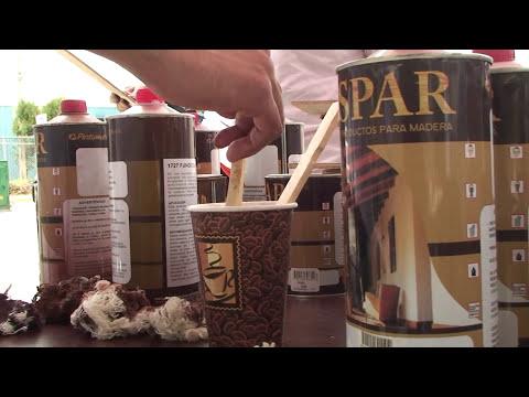taller de maderas aplicacion del acabado de poliuretano de pintumex