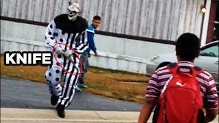 Creepy Clown Arrested for Murder! (Video)