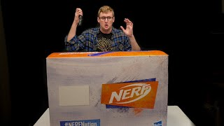 NERF NATION CAREPACKAGE UNBOXING | AWWWW YEAHHHHH!