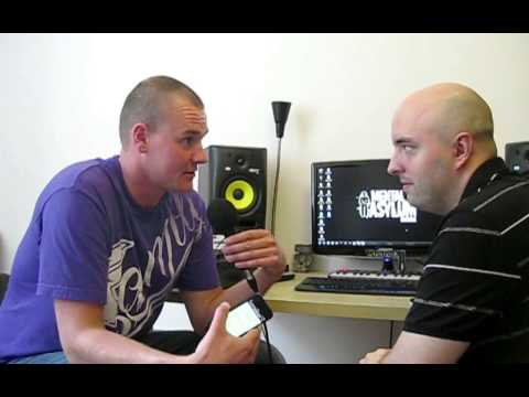 Indecent Noise studio interview, Warsaw, Poland