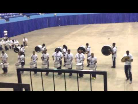 Hampton University Percussion Section High School Day 2014