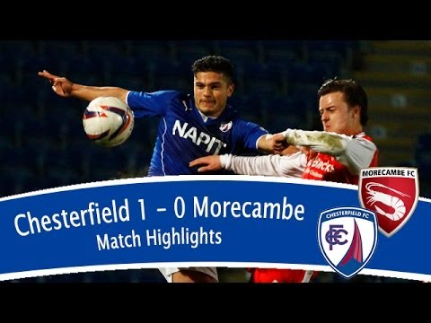 Chesterfield 1-0 Morecambe