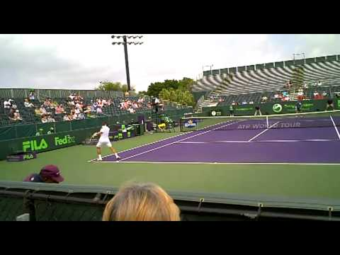 David Ferrer Sony Ericsson Open miami 2010_9.m2ts