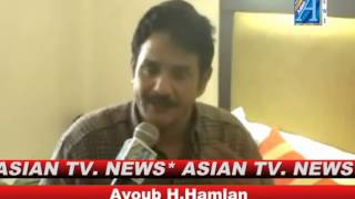 Ayoub H.Hamlan Interview By Mr Roomi Siddiqui Senior Reporter ASIAN TV NEWS