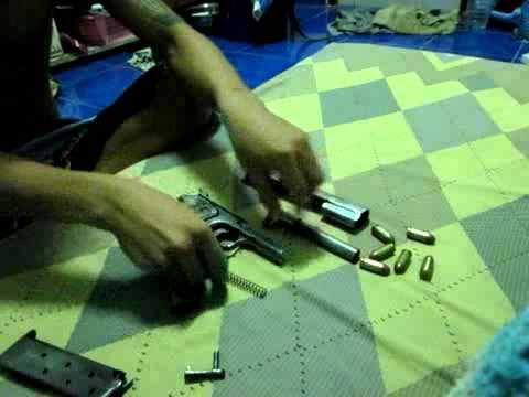 .45 AUTO GUN ปืน 11 มม ไทย
