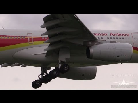 ✈[HQ] Hainan Airlines Airbus A330 Landing @ Berlin