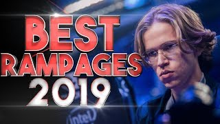 BEST Pro Rampages of 2019 in Dota 2