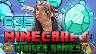 Minecraft: Hunger Games w/Bajan Canadian! Game 635 - Diamond Swag!