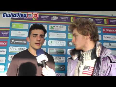 Giulianova Amiternina le interviste del dopo partita