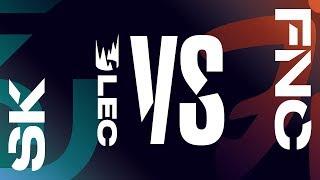 [ITA] LEC 2019 - W5D2 - SK vs FNC