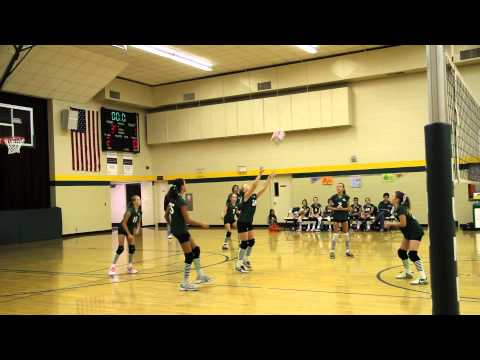 6th grade volleyball Lumen Christi vs Eastbrook Academy