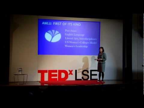 TEDxLSE - Barbara Hou - Transforming Women's Leadership in Asia Through Education