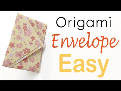 Super Easy Paper Envelope Tutorial - Origami Kawaii