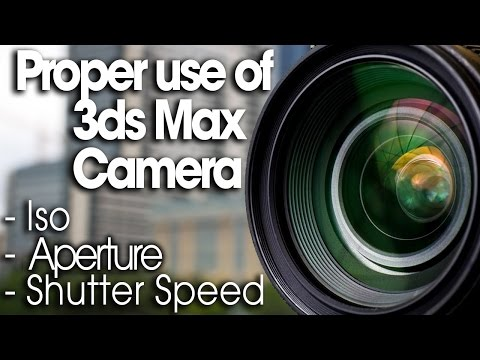 How to use 3ds Max Camera - Correctly!