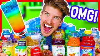 MIXING EVERY JUICE FLAVOR TOGETHER! - CHALLENGE