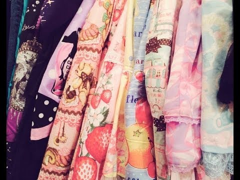My Lolita Wardrobe~ June 2014