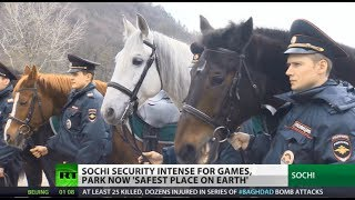 'Safest place on Earth': AA missiles, high-tech gear, cossacks protect Sochi Olympics (drones)   2/5/14