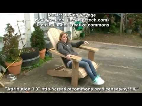 How to make a Cape Cod Chair
