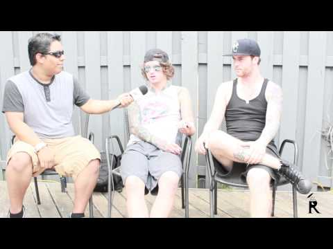 Asking Alexandria Interview #3 Album Iv Progress | we're Putting Our Foot Down | Mayhem Fest 2014 video