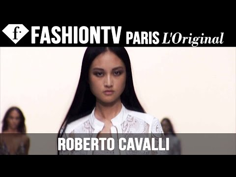 Roberto Cavalli Backstage ft Model Jing Wen | Milan Fashion Week Spring 2015 | FashionTV