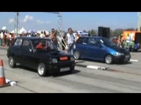 Renault 5 Turbo Raider. Renault 5 Alpine Turbo Vs.