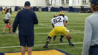 Tom Dienhart's Impressions From Michigan's Practice