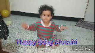 JojoNK 72 SONG Bday wishes to Moushi