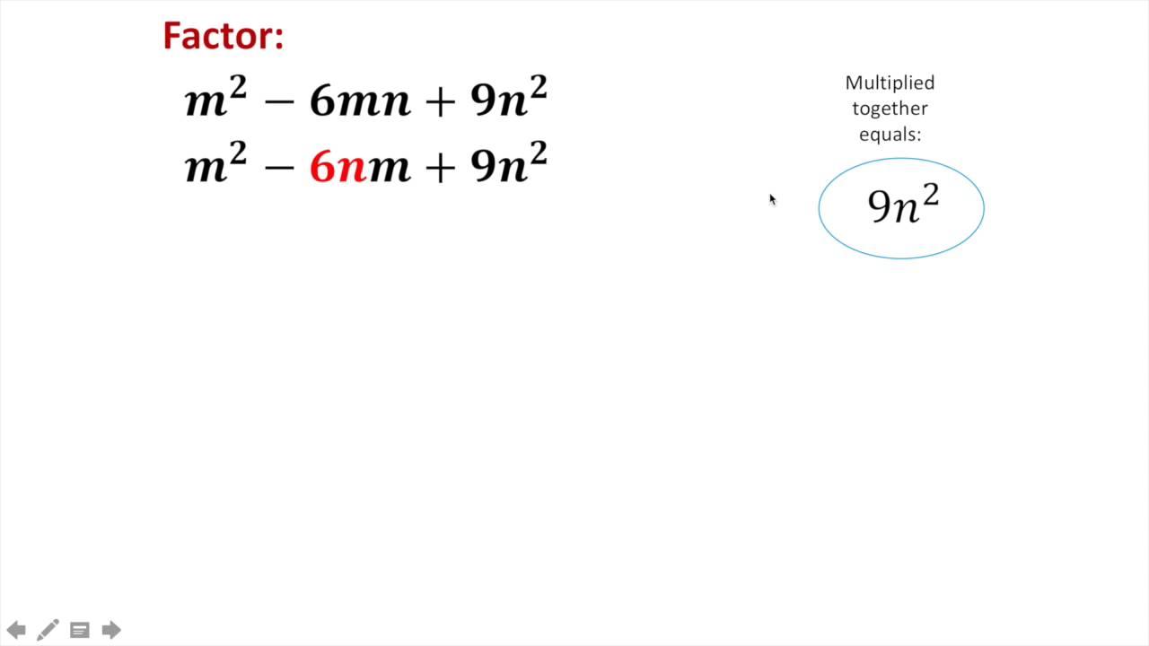 Factoring polynomials worksheet 1