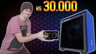 O Computador de R$ 30.000,00 do Editor! Como Ficou!?